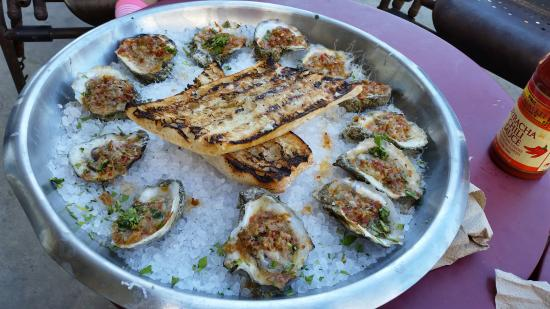 Whole Foods Market: spicy broiled oysters
