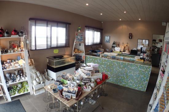 La Gueriniere, Francia: Avec les produits régionaux