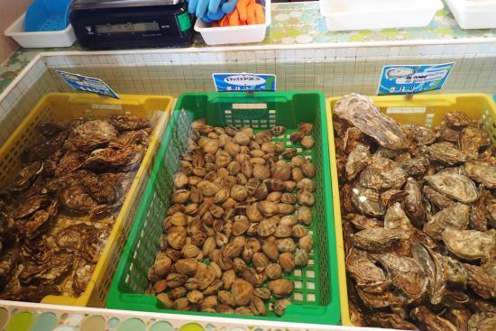 La Gueriniere, Francia: huîtres et coquillages