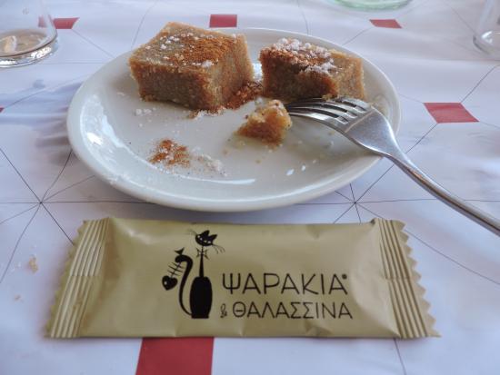 Varkiza, Grécia: Γλυκάκι για το τελος