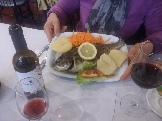 Restaurante Romao: Dorade grillée