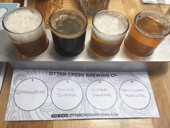Otter Creek Brewing : First time stopping in!