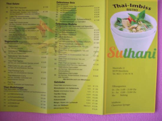 aussenansicht picture of suthani thai imbiss bistro mannheim tripadvisor. Black Bedroom Furniture Sets. Home Design Ideas