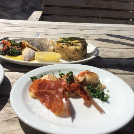 Lamorna, UK: Scrumptious fresh seafood!