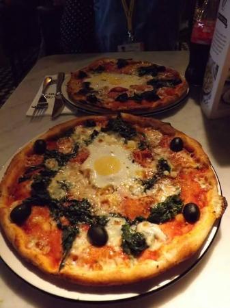 South Normanton, UK: Pizza Florentina