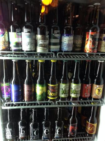 Lua Casual Food: Beer selection