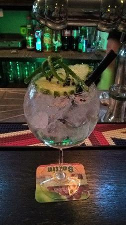 Excellent Gin and Tonic specialty bar!