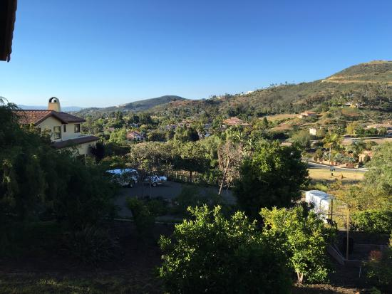 Vista, CA: From the Patio