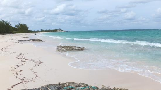 Rock Sound, Eleuthera : Pink Sand Beach!