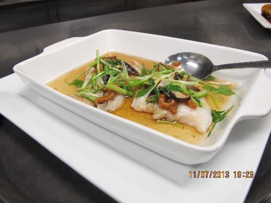 Wesley Chapel, Floryda: Black Mushroom on Filet Steamed Fish Ginger Sauce