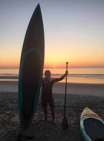 Fernandina Beach, FL: SUP Amelia Island at sunrise