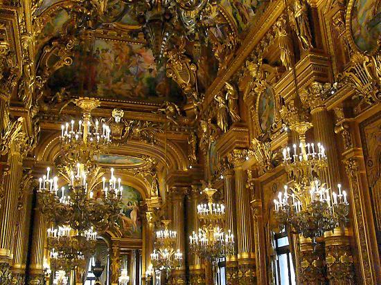 Le Grand Foyer Opera Garnier : Le grand foyer picture of palais garnier opera
