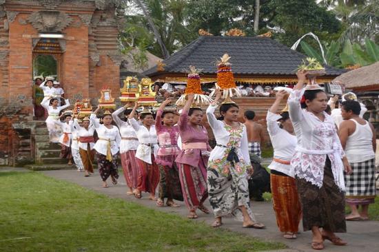 Bedugul, Ινδονησία: Upacara Adat  di Alas Kedaton Bali
