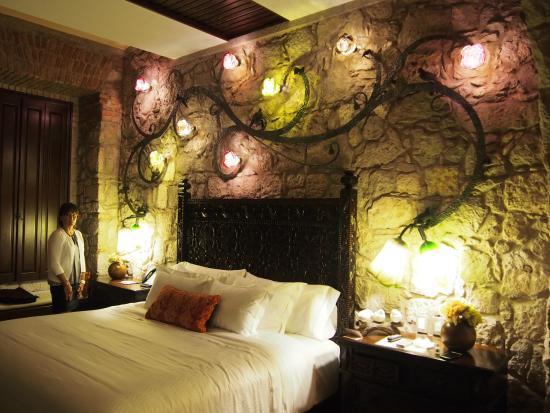 Hotel De La Soledad: Blown Glass Lighting, Fabulous Linens, Custom Furniture  Throughout