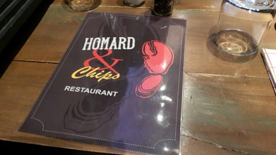 Homard & Chips Picture