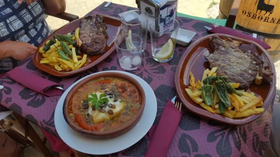 Velez de Benaudalla, Spanyol: lo mio era bacalao en casuela