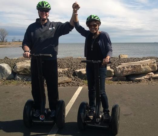 Shoreline Segway tour in Guilford , CT - Great Time !