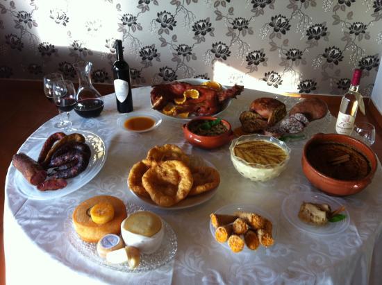 Restaurante Ponte Velha : Pratos tipicos
