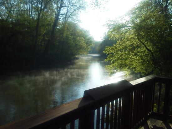 Greenway Bike Trail: Early morning walk