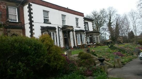 terrace behind the house picture of heath house ossett tripadvisor rh tripadvisor com