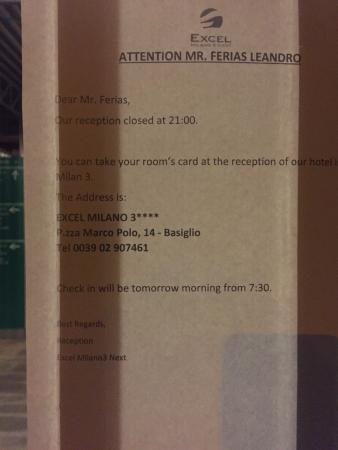 Excel Milano 3 Next