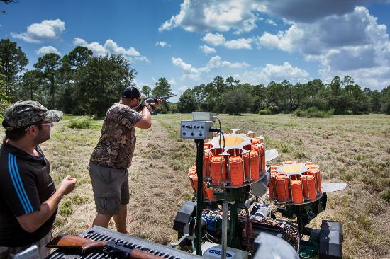 Sebring, FL: Clay Shooting
