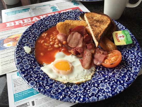 Alfreton, UK: Breakfast