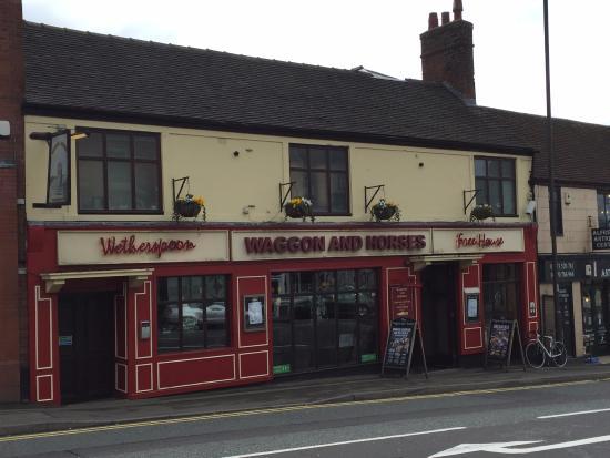 Alfreton, UK: Waggon & Horses