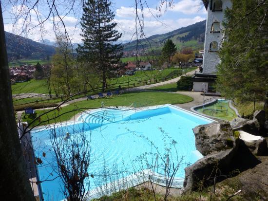 Hotel Prinz-Luitpold-Bad: Aussenschwimmbad 22 Grad