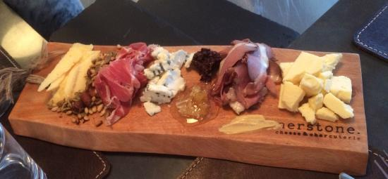 Cornerstone Cheese & Charcuterie: Cheese & Charcuterie board