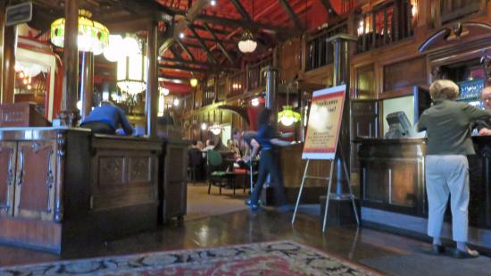 front reception and bar picture of the old spaghetti factory rh tripadvisor com