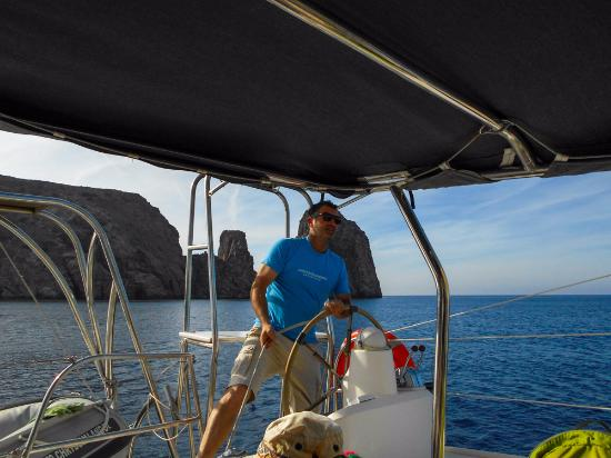 Adamas, Grecia: капитан