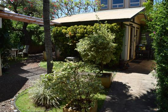 Paia, Havaí: Cosy spot for a couples massage.