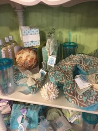 Rock Hall, MD: Ocean Aire heat and ice wraps, scented decor, bath beads, and sachets make wonderful gifts!