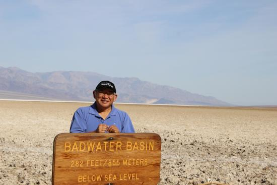 Badwater: 99 degrees at Bad Water