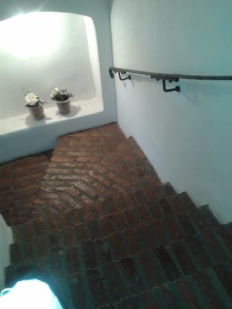 Zamek Zabreh: Staircase