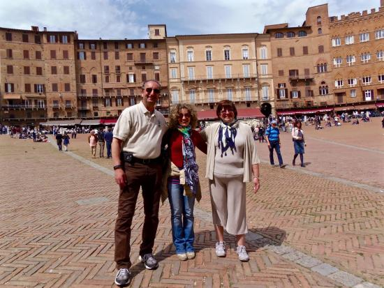 Siena Walking Tours - Private Guided Tours : wonderful day with Costanza!