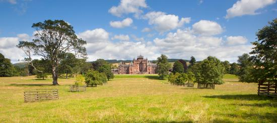 Thirlestane Castle and grounds