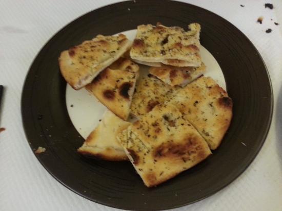 Ristorante Paradiso : Pizza blanche huile d'olives et épices