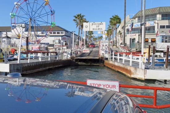 Balboa Island Ferry Newport Side Has A Fun Zone And Restaurants