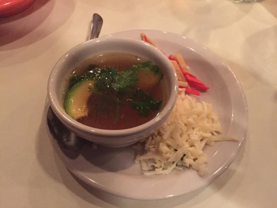 Aldaco's Mexican Cuisine - Stone Oak: Great soup and entrees