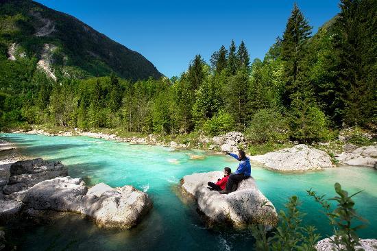 Slowenien: River Soča