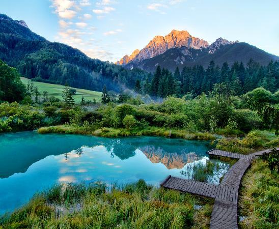 Slovenia: Zelenci Kranjska Gora