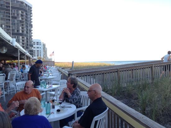 Jensen Beach, Φλόριντα: Beachside dining.