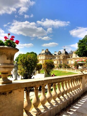 Paris, Frankrig: Nuages au Luxembourg