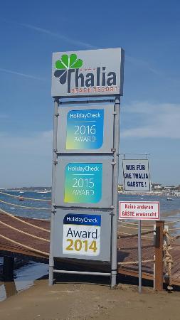 Thalia Beach Resort: 20160420_101952_large.jpg