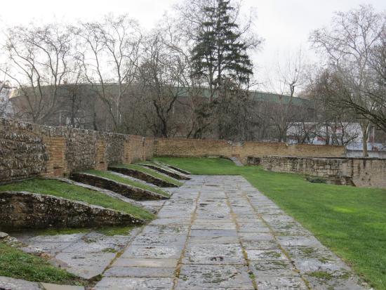 Centro de Interpretacion de las Fortificaciones de Pamplona : Patio superior