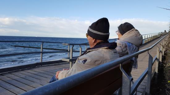 Nienhagen, Tyskland: Barrierefreier Strandzugang
