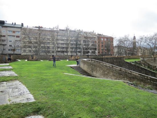 Centro de Interpretacion de las Fortificaciones de Pamplona : Vista panorámica de la ciudad