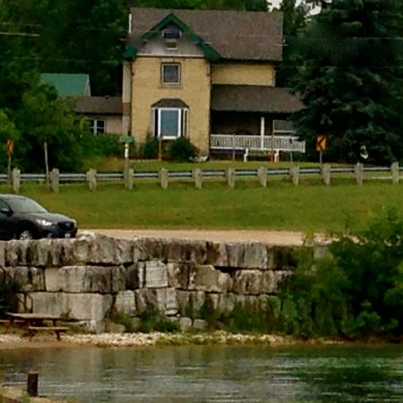 Wiarton, Canadá: View from the Quay...(Government Dock)